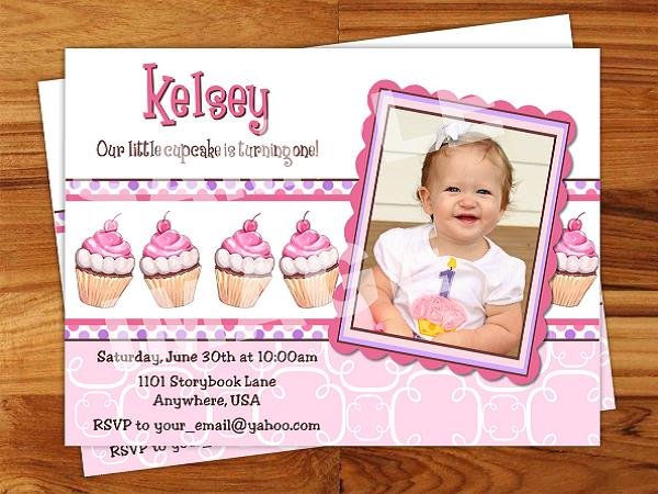 1st birthday invitation sample yeniscale 1st birthday invitation sample stopboris Images