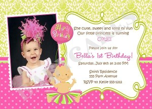 invitation template 1st birthday 19NlrG8d