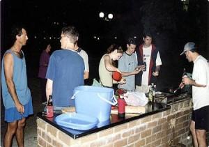 Christmas-barbecue