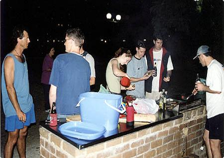 Christmas-barbecue