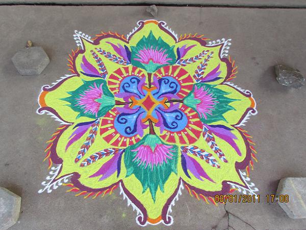Easy-Rangoli-patterns