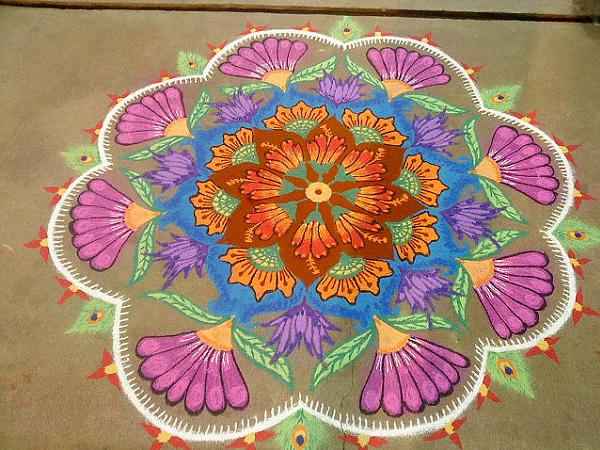 Rangoli-patterns-with-theme