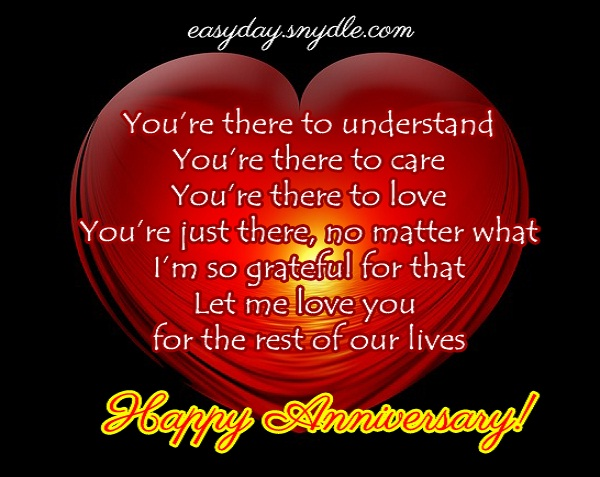 Sample wedding anniversary letter to wife