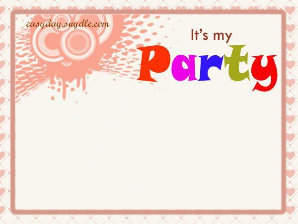 Birthday Invitation Samples 1 Share It In Facebook