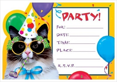 Birthday Invitations For Adults Template
