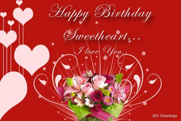Birthday Wishes Messages and Greetings Easyday – Birthday Love Greeting Cards
