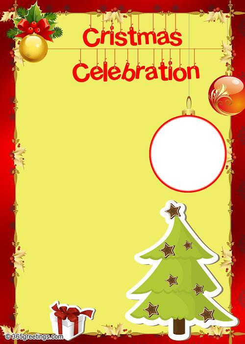 Christmas party invitations and christmas party invitation for Free christmas invitation templates