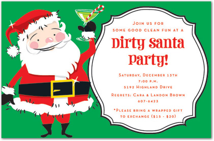 Christmas Party Invitations and Christmas Party Invitation Wording – Funny Christmas Party Invitations