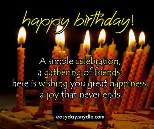 Happy Birthday Wishing Cards And Wallpapers: Birthday Wishes Messages And Greetings