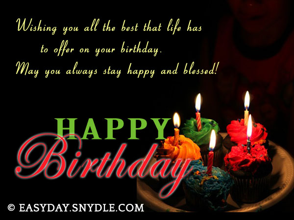 Birthday wishes messages and greetings easyday happy birthday wishes image m4hsunfo Gallery