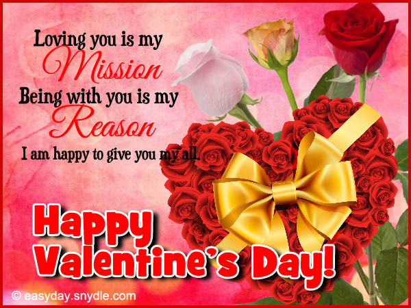 happy valentines day messages - Happy Valentines Day Wishes