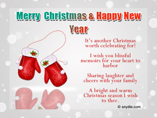 Nice Christmas Greetings Wordings Throughout Christmas Wishes Samples