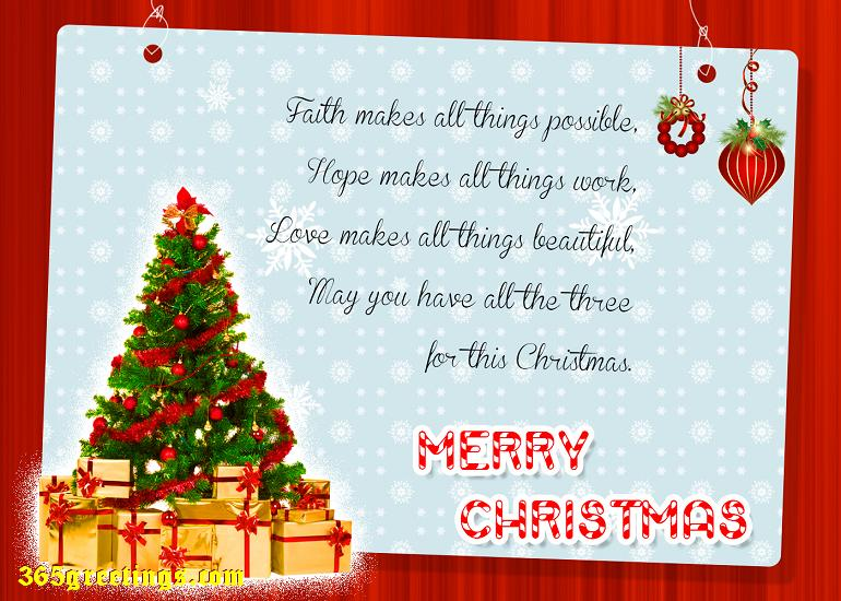 Christmas Wishes Greetings