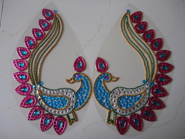 peacock_rangoli