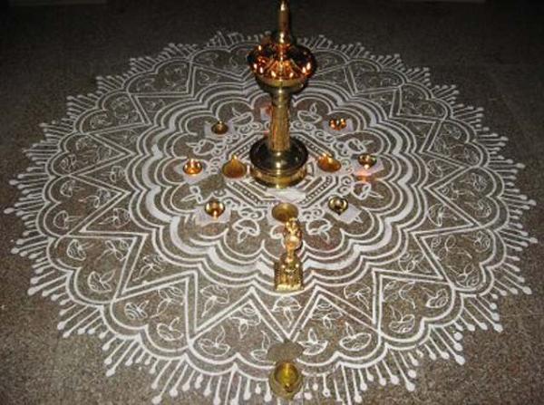 rangoli-with-dots