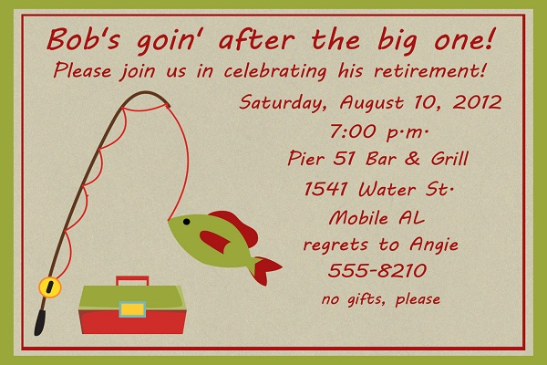 Retirement party ideas easyday retirement party invitation stopboris Image collections