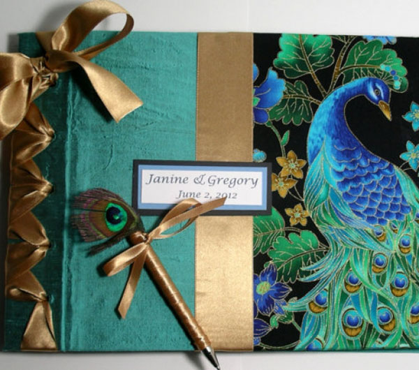 Unique Diy Peacock Wedding Invitation Easyday
