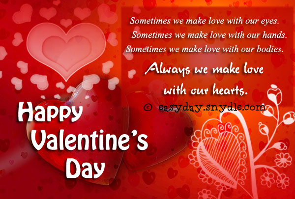 valentine day images with message