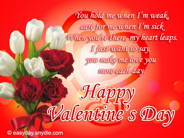 valentines day messages - Happy Valentines Day Wishes