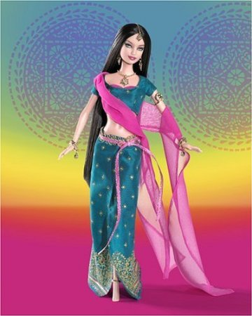 Barbie For Diwali Decorations