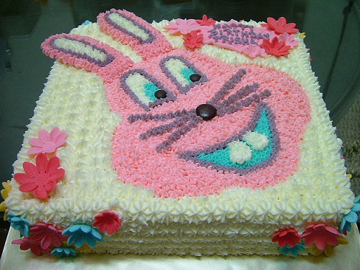 bunny-birthday-cake