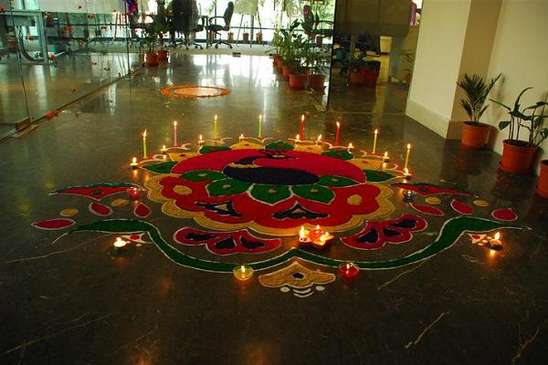 Diwali decorations ideas for office and home easyday for How to make diwali decorations at home