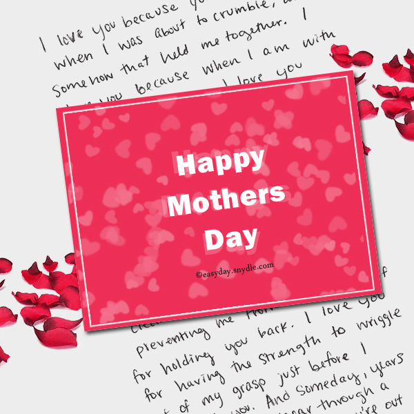 Mothers day messages wishes and mothers day greetings easyday mothers day messages m4hsunfo