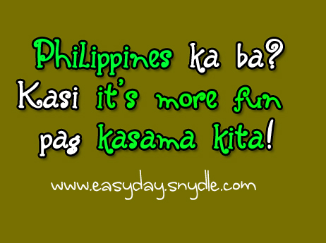 Love Quotes For Him Tagalog Pick Up Lines : tagalog-pick-up-lines - Easyday