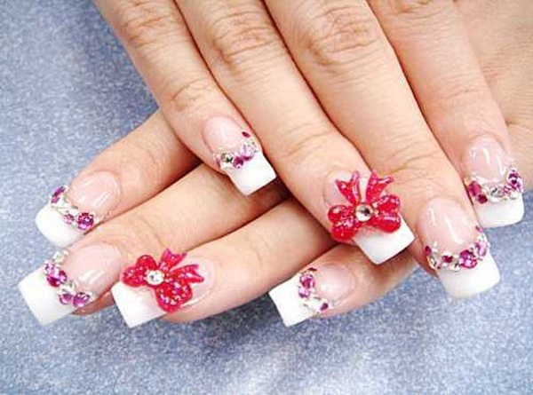 Beautiful nail arts images nail art and nail design ideas 40 cute and easy nail art designs for beginners easyday 3d nail art prinsesfo images prinsesfo Image collections