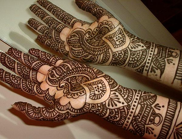 Mehndi Hands Poetry : Bridal mehndi design facebook popular green