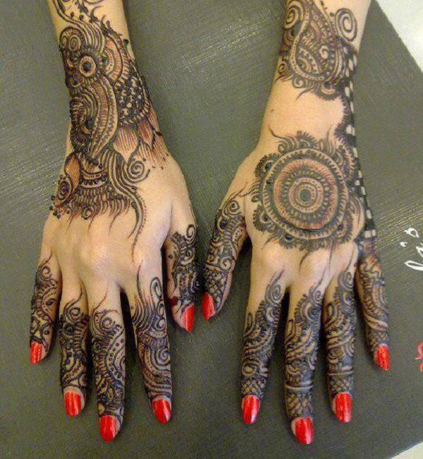 Latest Mehndi Design Ideas For Hand