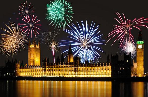 New-years-fireworks-London