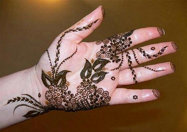 Simple Mehndi Patterns Wallpapers : Simple and latest mehandi designs easyday