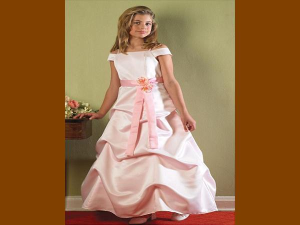 Pink-Flower-Girl-Dresses