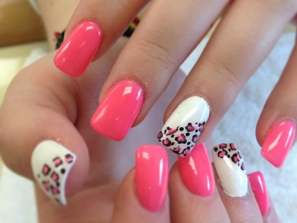 40 cute and easy nail art designs for beginners easyday pink nail art designs prinsesfo Choice Image