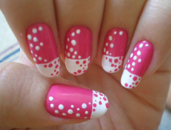 cute-nail-art-design - 40 + Cute And Easy Nail Art Designs For Beginners - Easyday