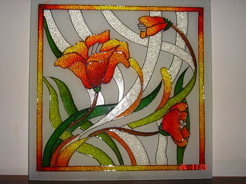 Glass painting designs and patterns easyday for Simple glass painting pictures