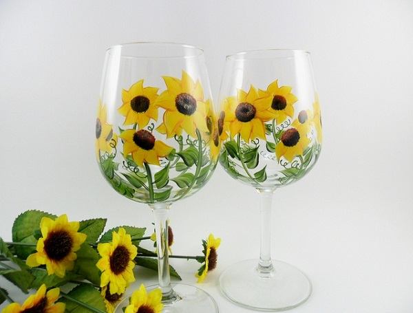 glass-painting-flower