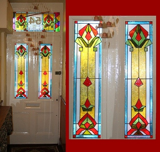 Unique Painted Door Frame