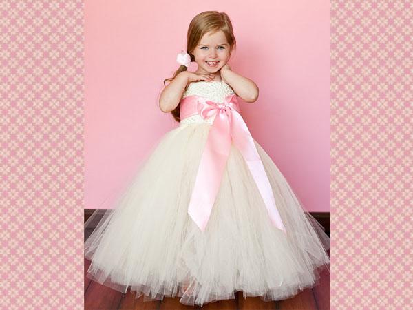 Ivory Wedding Flower Girl Dresses Easyday