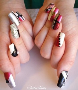 40 cute and easy nail art designs for beginners easyday nail art designs decorating hand prinsesfo Gallery