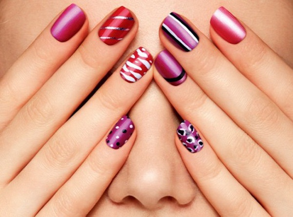 40 cute and easy nail art designs for beginners easyday - Easy nail design ideas to do at home ...