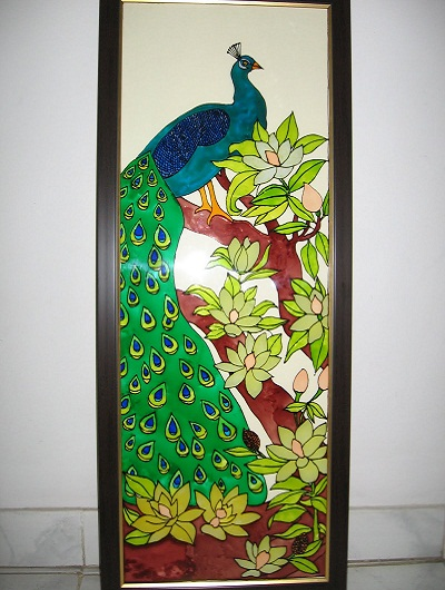 peacock-glass-painting
