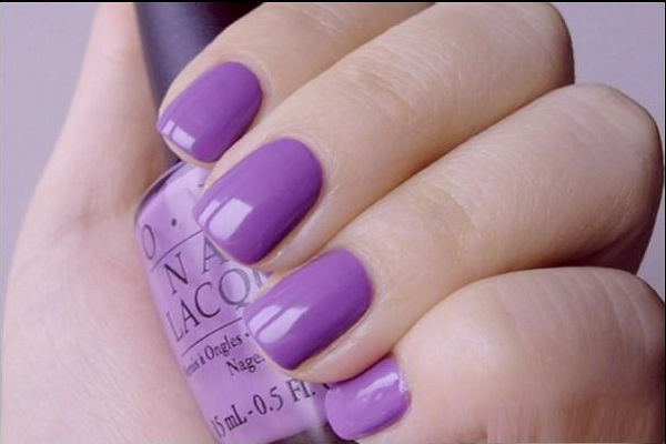 purple-nail-designs - 40 + Cute And Easy Nail Art Designs For Beginners - Easyday
