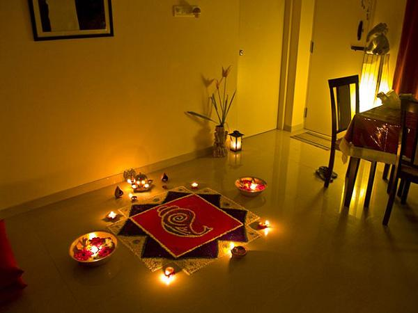 Diwali Home Decoration. Rangoli Designs For Diwali 2