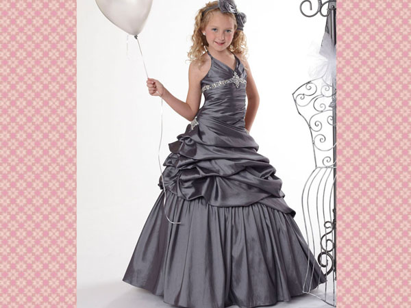silver-flower-girl-dresses