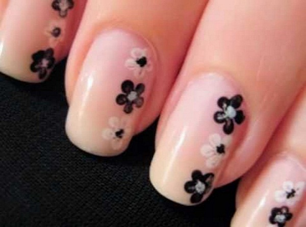 40 cute and easy nail art designs for beginners easyday simple nail art design prinsesfo Image collections