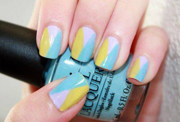 40 cute and easy nail art designs for beginners easyday simple nail art prinsesfo Choice Image