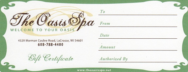 Spa Gift Certificate Template Free Download Mandegarfo