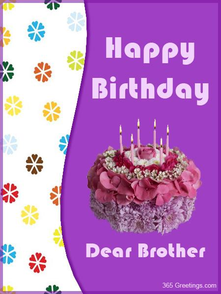 Birthday Cards Brother gangcraftnet – Birthday Card for My Brother
